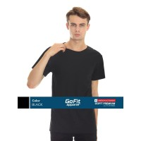GoFit Premium Cotton 8600 BLACK size S