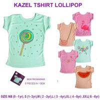 KAZEL TSHIRT LOLLIPOP EDITION