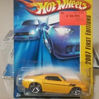 Hot Wheels Ford Mustang 1967 Yellow (2007 1st edition)