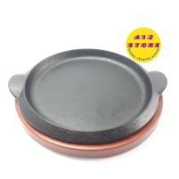 Hot Plate Piring steak bulat 18cm