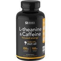 L-Theanine & Caffeine with Coconut MCT Oil Sports Research