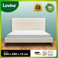 Luvina Kasur Kesehatan Natural Latex - Ukuran : 200x200x15cm
