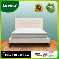 Luvina Kasur / Topper / Matras Kesehatan Natural Latex 120x200x2,5cm - Latex