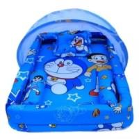 kasur bayi kolam kelambu set