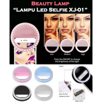 Lampu Selfie LED Ring Light Bigo Portable Clip