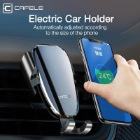 CAFELE ORIGINAL ELECTRIC CAR PHONE HOLDER FOR IPHONE 11 PRO XR X 8 - Hitam