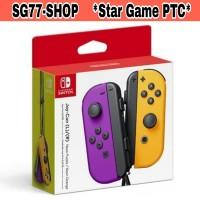 Joycon Joy-Con Joy Con Nintendo Switch Neon Purple Neon Orange Ungu
