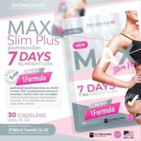 Max Slim Plus 7 days Diet suplemen