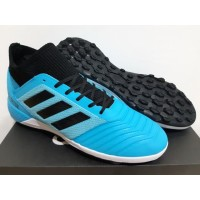 Sepatu Futsal Adidas Predator Tango 19.3 Bright Cyan - TURF