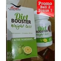Obat Diet Booster Weight Loss Pelangsing Badan ( Stei Slim, Garcinia )