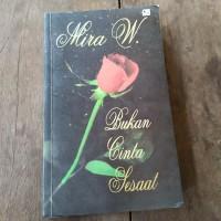 Novel Mira W bukan cinta sesaat preloved