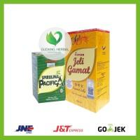 PROMO Paket Hemat Luxor Jelly Gamat 350ml + Spirulina 200 tabs