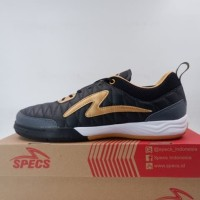 Sepatu Futsal Specs Metasala Nativ IN Black Gold 401218 Original BNIB