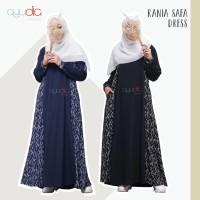 Dress Rania Safa -Hanya Dress- Gamis Pesta Syari Woolpeach by Ayudia I