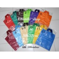 Kantong Plastik Hd Pe 30x32cm Soft Handle (SH) / Shopping Bag Polos