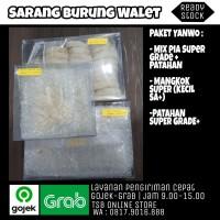 Sarang Burung Walet Kualitas Ekspor - Paket Campuran Mangkok Super