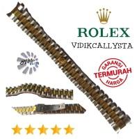 20mm Rantai Strap Tali jam tangan watch Rolex President Kombinasi
