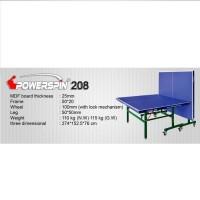 Meja Pingpong / Tenis Meja POWERSPIN 208 / Power Spin 208 (MDF 25 mm)