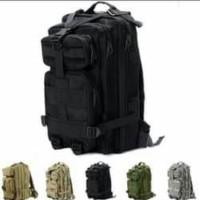 tas ransel army 3p tactical backpack ukuran sedang loreng camo