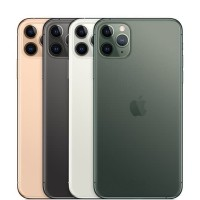 Apple iPhone 11 Pro Max 64GB Dual Sim Gold Gray Silver Midnight Green - Gray