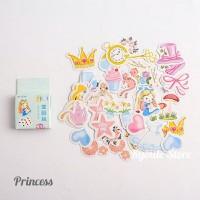 Sticker Deco Cute Princess Scrapbook DIY Bujo Planner Diary Journal