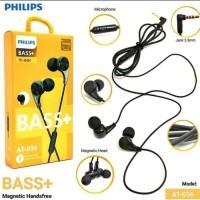 Handsfree Headset Philips BASS + AT 036 Earphone Good Quality BASS.