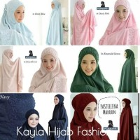 Promo Mukena Khadijah Best Seller - Dusty Purpel