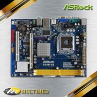Mobo Soket LGA 775 G31 DDR2 Merk Asrock