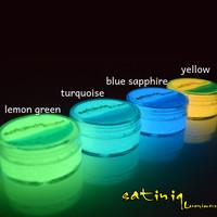Cat Fosfor Lukis | Glow in the dark paint | Cat Glow | Satiniq Luminos