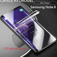 SAMSUNG GALAXY NOTE 8 CAFELE HYDROGEL Anti Gores Full Curved