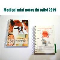 Medical Mini Notes Edisi Ear Nose Throat / Mmn Tht Edisi 2019 [Kode