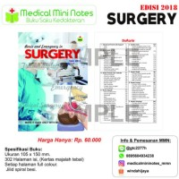 Medical Mini Notes - Basic & Emergency In Surgery 2018 [Kode 1|Kode