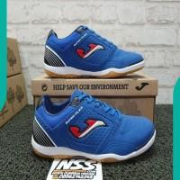 NEW Sepatu Futsal Joma Superflex Royal Blue Original Flexs.904.ps