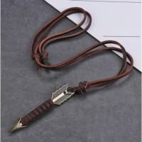 Kalung kulit Arrow