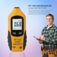 HT-M2 Professional Digital LCD Display Microwave Leakage Detector High