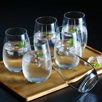 1 SET ISI 6 PCS STEMLESS GLASS/GELAS WINE/WINE GLASS/STEMLESS GLASS