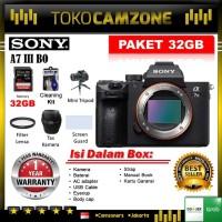 Sony Alpha 7 III / a7 III Mirrorless A7III Body Only Paket Super