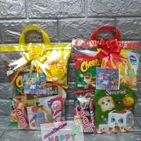 Paket souvenir ulang tahun Snack dan kotak makan Luki /shoopies