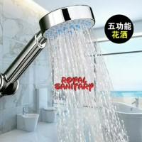 Hand Shower Minimalis Kepala Gede 5 Fungsi-Kepala Shower Gede 5 in 1