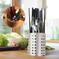 CUTLERY UTENSIL HOLDER, Stainless Steel, Wadah Peralatan Serbaguna