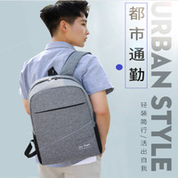 Tas Ransel Korea Anti Air USB Port Charger Smart Backpack Anti Maling