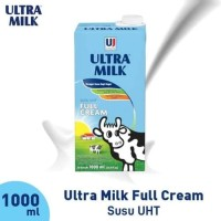 Susu Ultra Milk (UHT) 1 Liter - Full Cream Murah