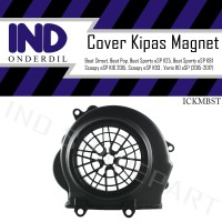 Tutup-Cover Kipas Magnet-Mesin Beat Street-Sporty-Pop Old-New eSP FI