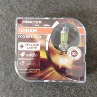 Bohlam Lampu Kabut Foglamp Kuning Avanza Innova OSRAM HB4 Fog Breaker