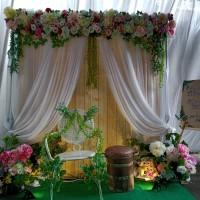 sewa dekorasi backdrop photobooth murah 2 m ....