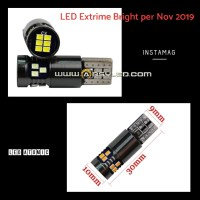 Lampu LED Mobil Paling Terang Senja T10 ATOMIC CANBUS Extrime Bright