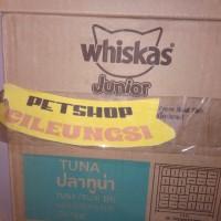 whiskas Junior sachet 1 dus isi 24
