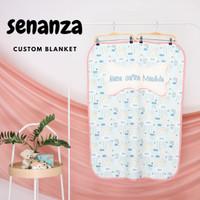 baby blanket custom / selimut custom size 70x100cm
