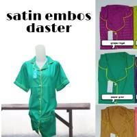 Daster Satin Embos / Daster Embos / piyama embos