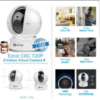 Ready EZVIZ C6C ez360 IP Cam CCTV Wifi HD 720p Night Vision [BEST
